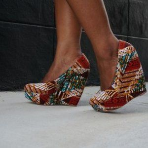 ALDO Forwood Printed Wedges